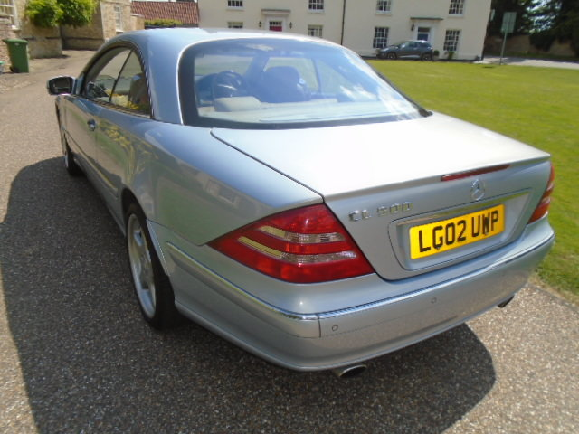 2002 Mercedes CL500 Coupe.  For Sale (picture 4 of 6)