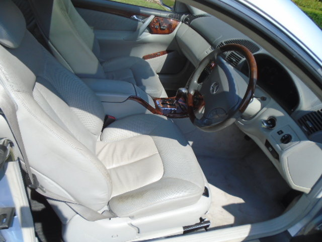 2002 Mercedes CL500 Coupe.  For Sale (picture 5 of 6)