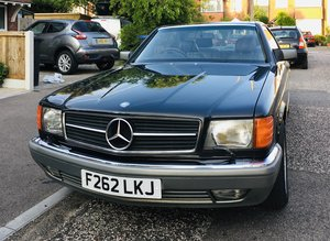 1988 Mercedes 420 SEC for auction 16th/17th July