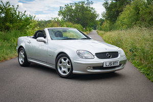 2001 Mercedes R170 SLK230 Kompressor - 13,879 Miles From New