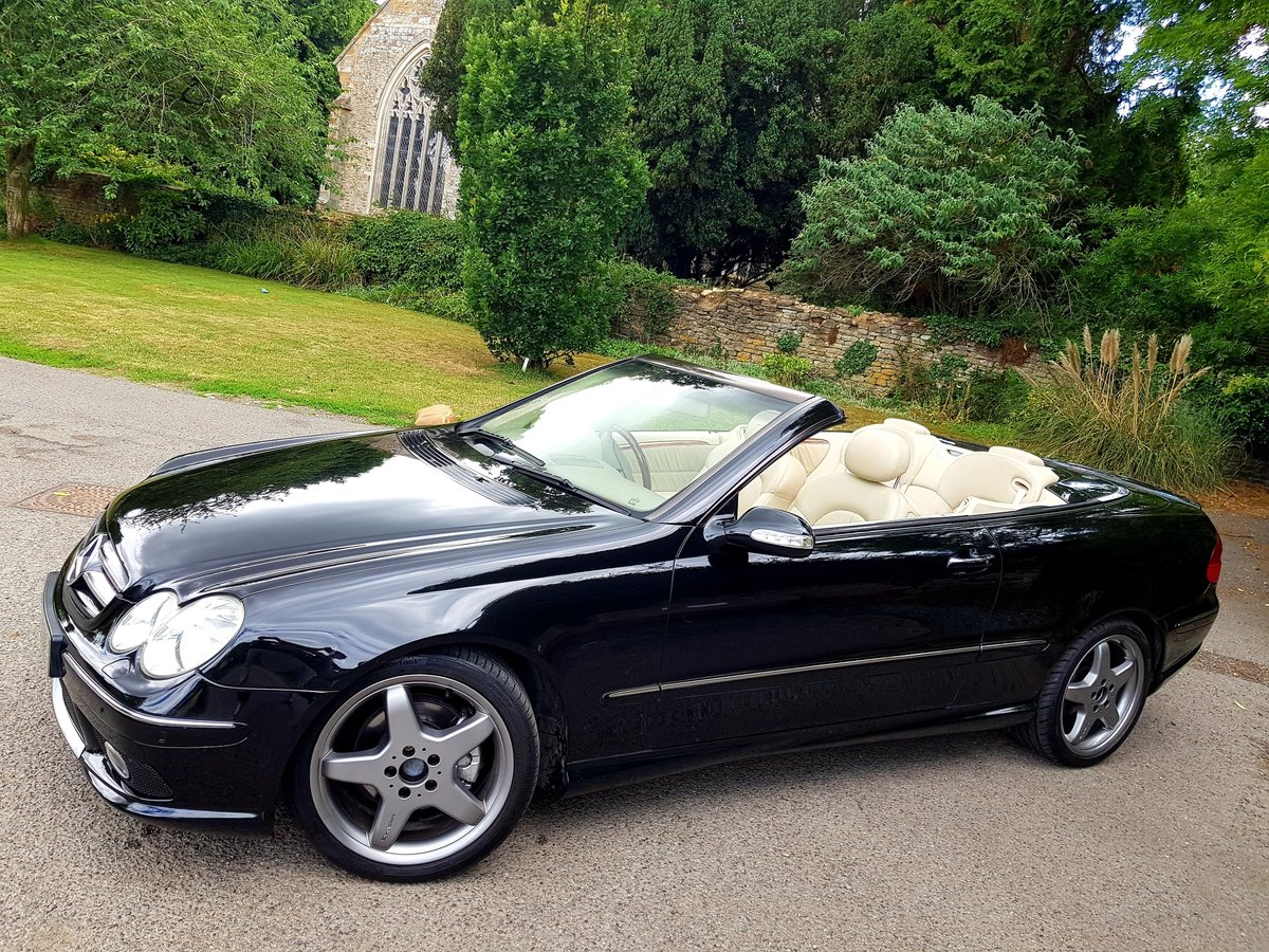 2004 Mercedes CLK 200K Cabriolet For Sale (picture 1 of 6)