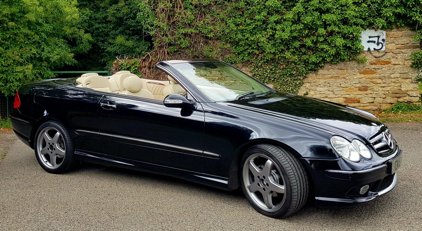 2004 Mercedes CLK 200K Cabriolet For Sale | Car And Classic