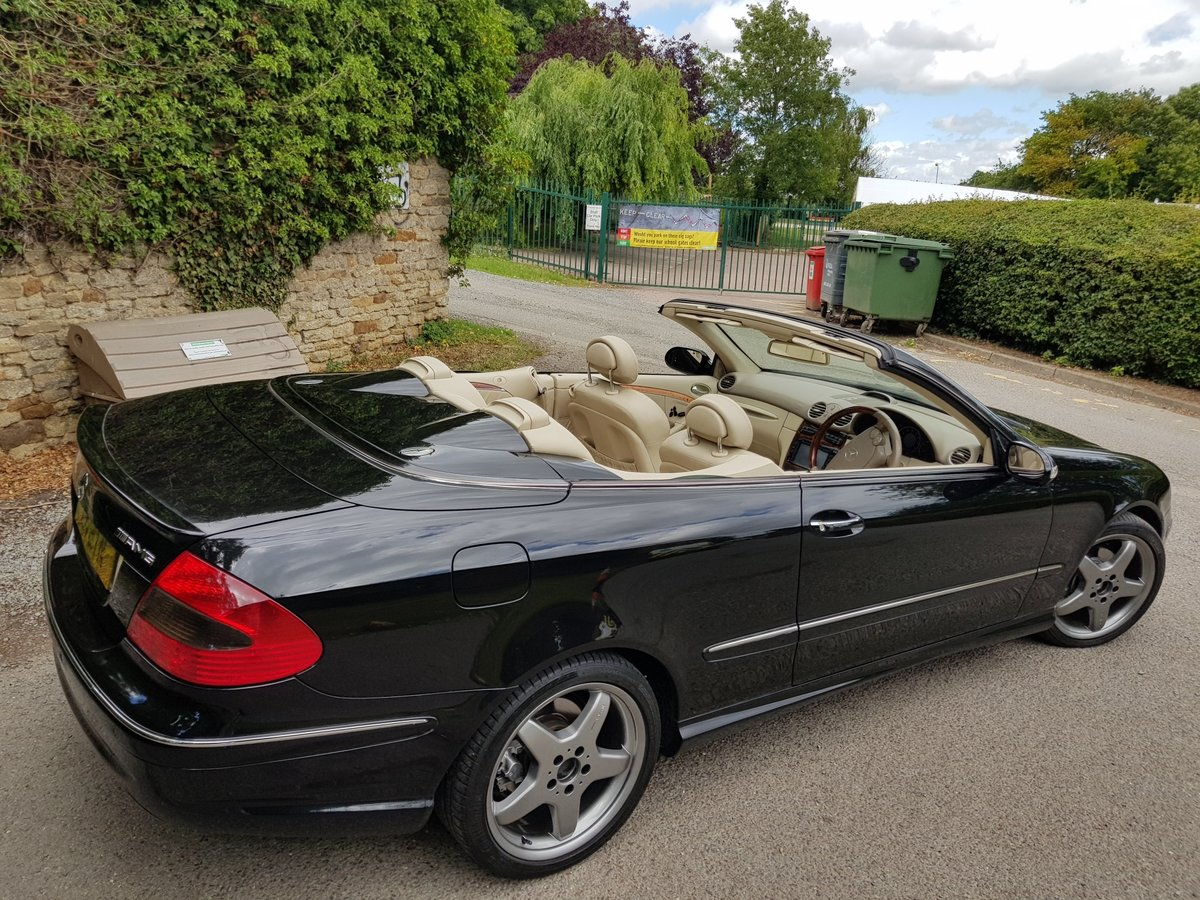 2004 Mercedes CLK 200K Cabriolet For Sale (picture 3 of 6)