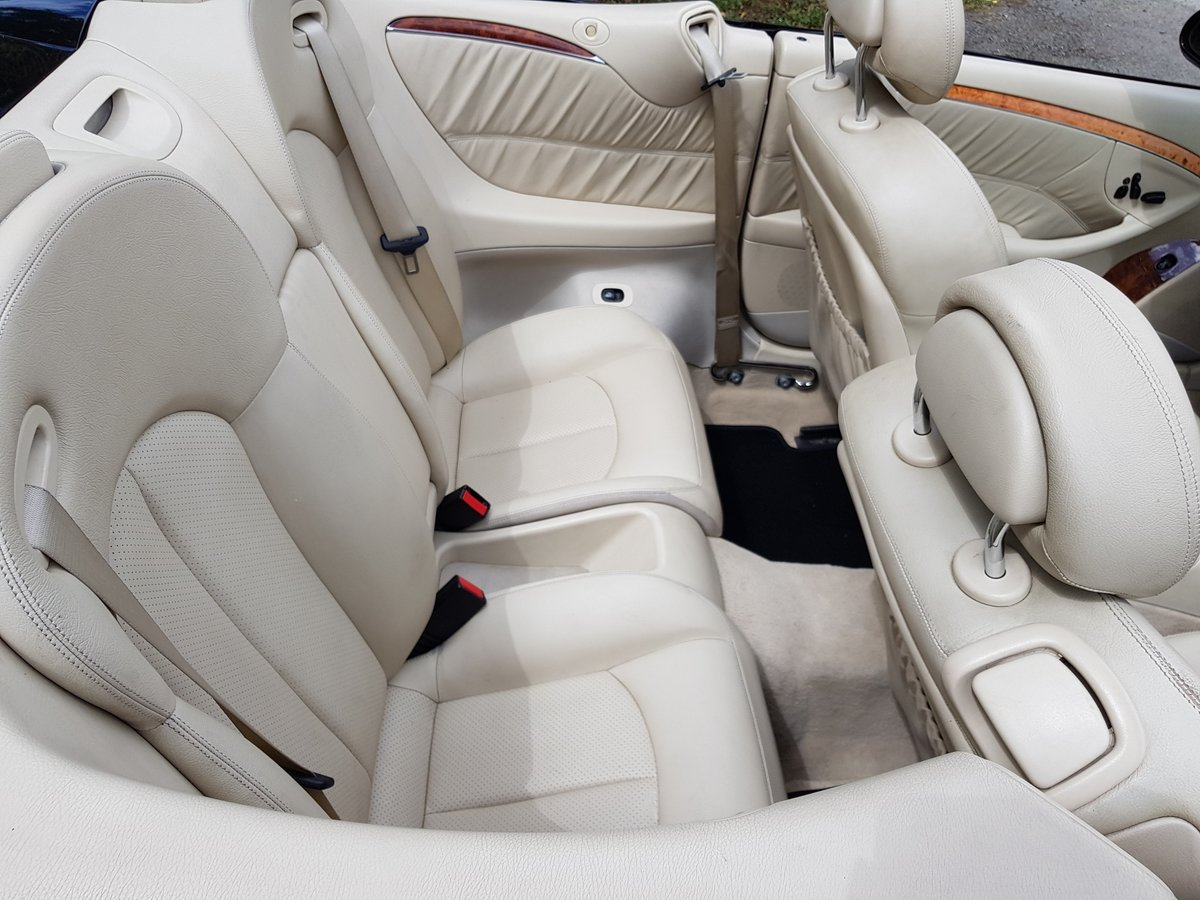 2004 Mercedes CLK 200K Cabriolet For Sale (picture 4 of 6)