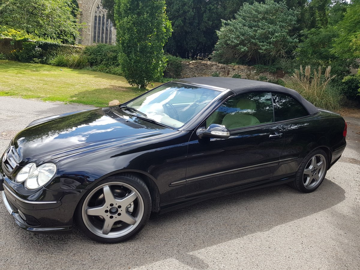 2004 Mercedes CLK 200K Cabriolet For Sale (picture 6 of 6)