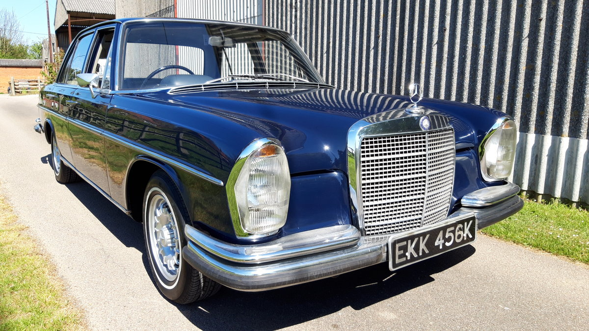 1972 MERCEDES BENZ 280 SE For Sale (picture 1 of 6)