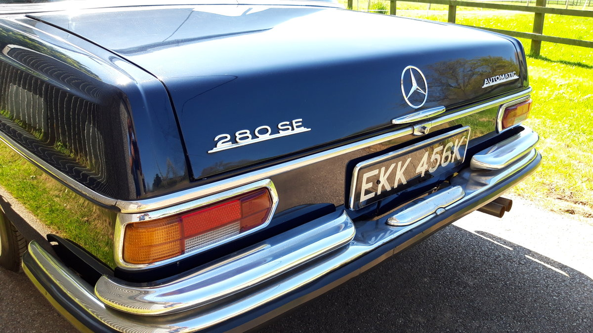 1972 MERCEDES BENZ 280 SE For Sale (picture 6 of 6)