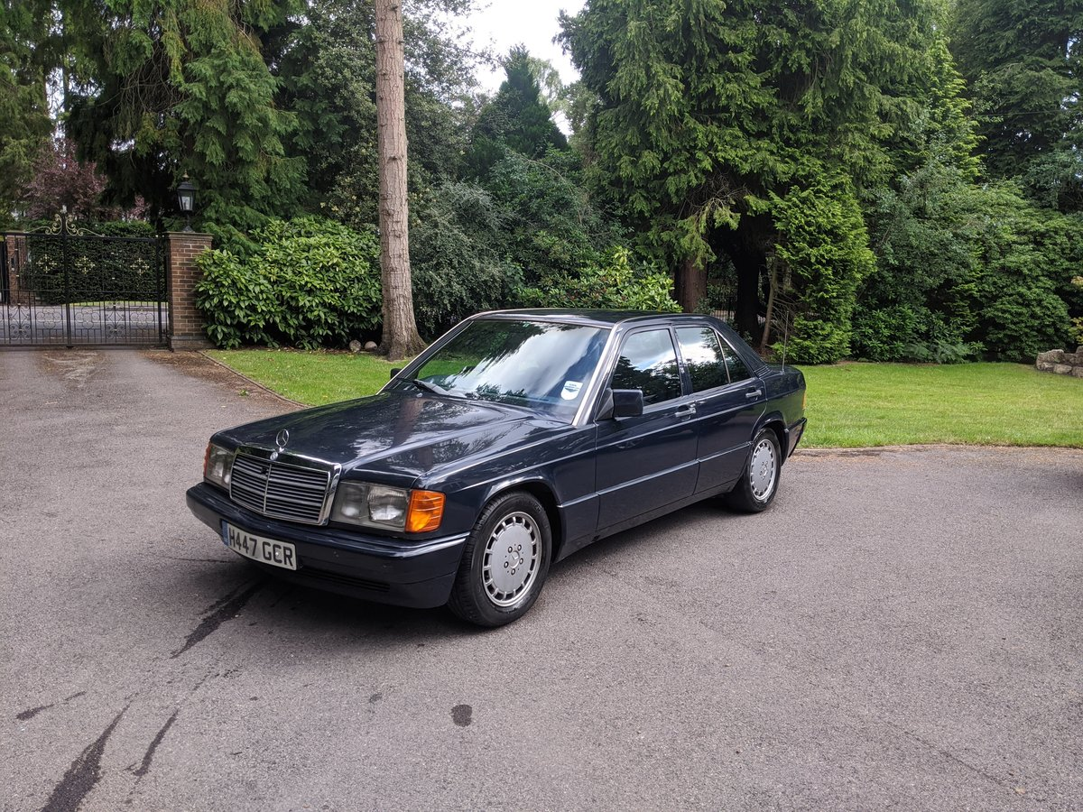 1991 Mercedes 190 D 2.5 L 68k miles For Sale (picture 1 of 6)