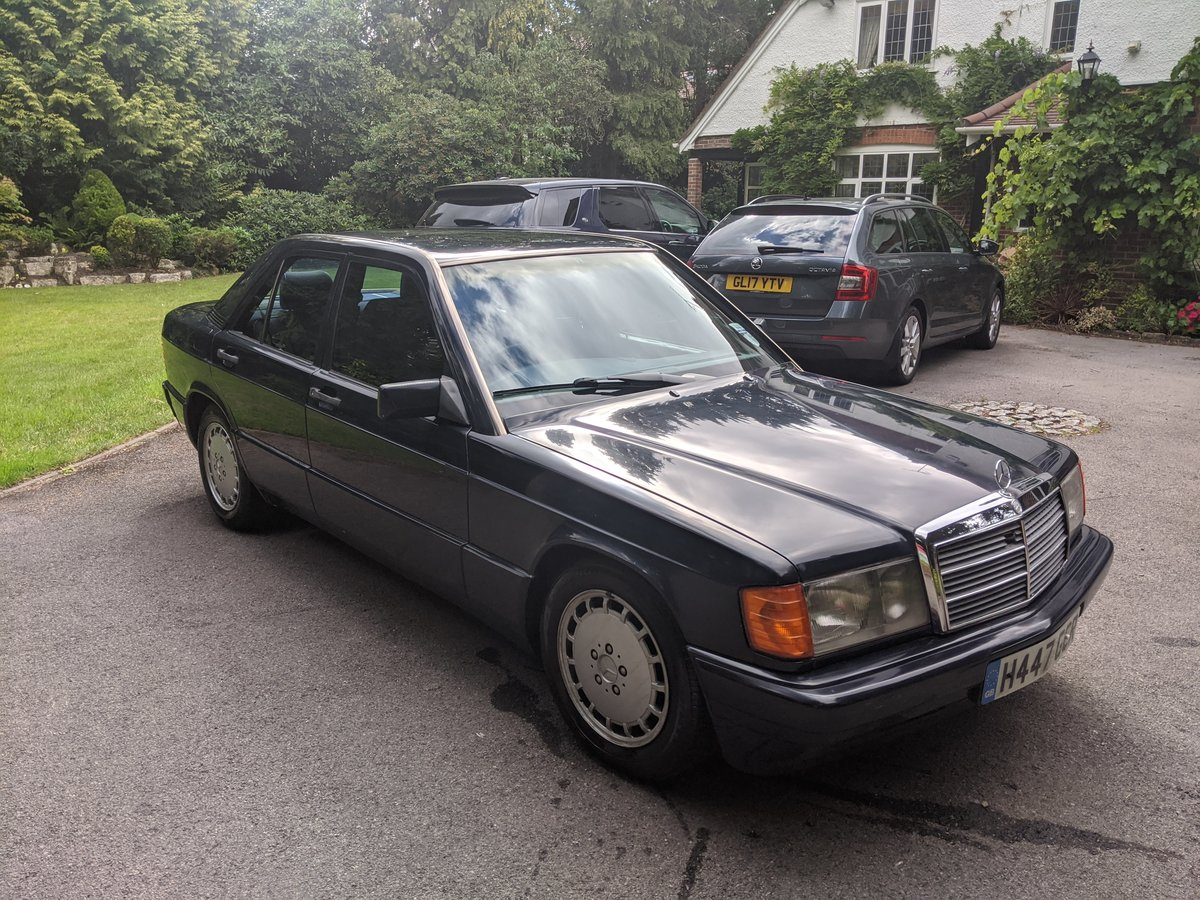 1991 Mercedes 190 D 2.5 L 68k miles For Sale (picture 2 of 6)