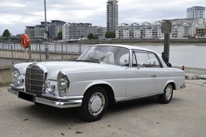 1971 Mercedes-Benz 280SE W111 Coupe Rare Manual UK RHD