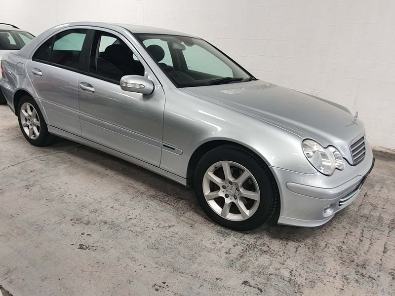 2006 SILVER MERCEDES BENZ-C CLASS 1.8 CLASSIC*GEN 40,000 MILES For Sale (picture 4 of 6)