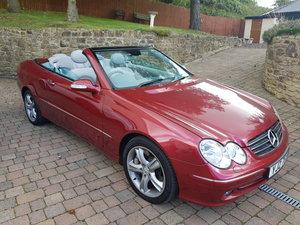 2003 CLK500 Avantgarde 5.0 V8 Auto Convertible