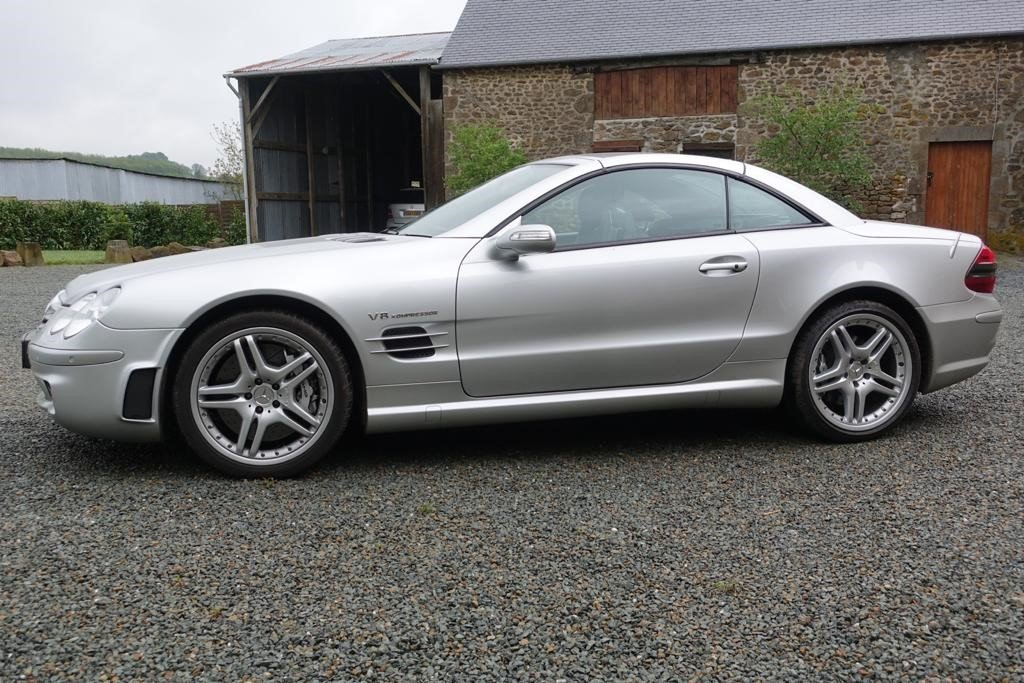 2004 Mercedes SL55 F1 Pace Car Performance Pack For Sale (picture 1 of 5)