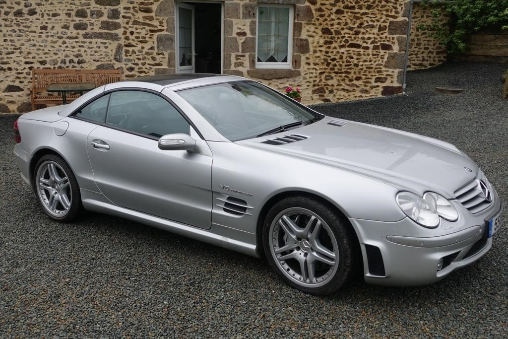 2004 Mercedes SL55 F1 Pace Car Performance Pack For Sale (picture 2 of 5)