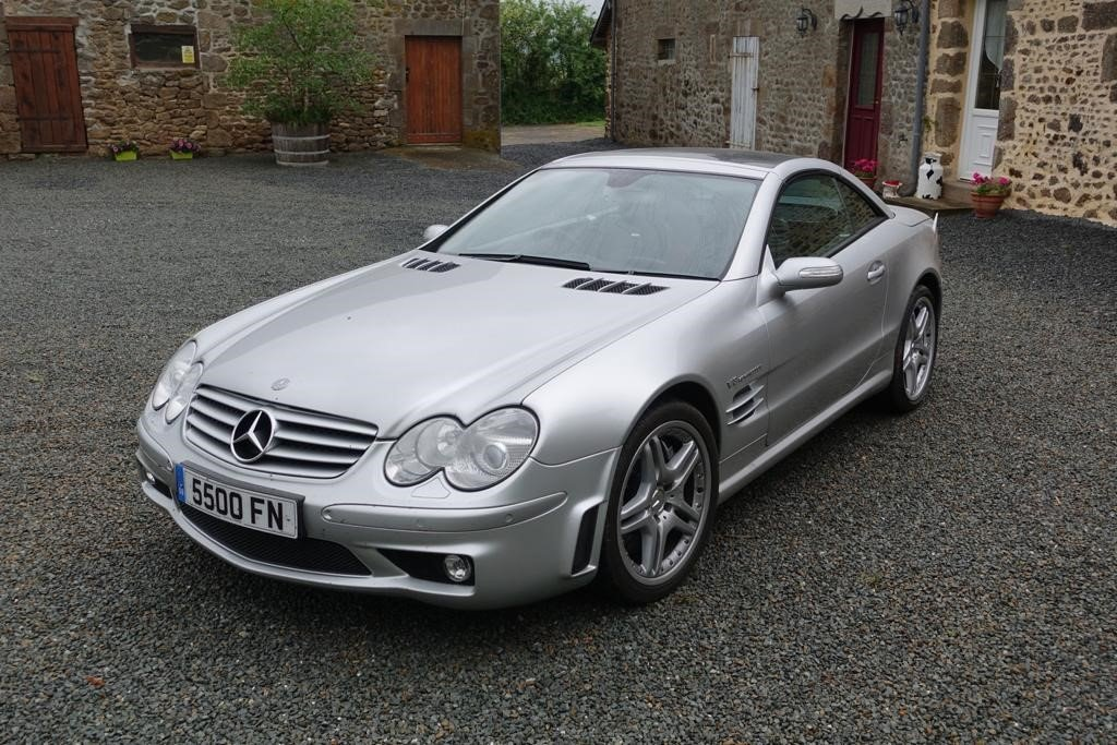 2004 Mercedes SL55 F1 Pace Car Performance Pack For Sale (picture 3 of 5)