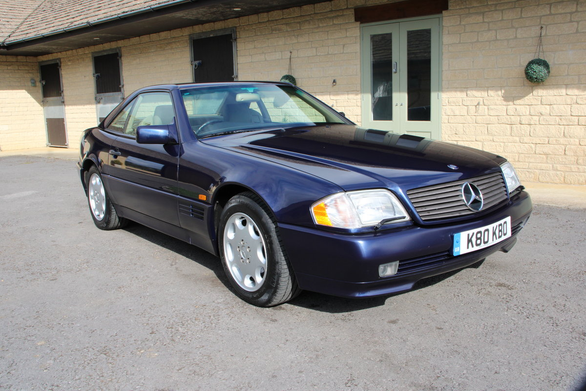 1995 MERCEDES 500 SL For Sale (picture 1 of 19)