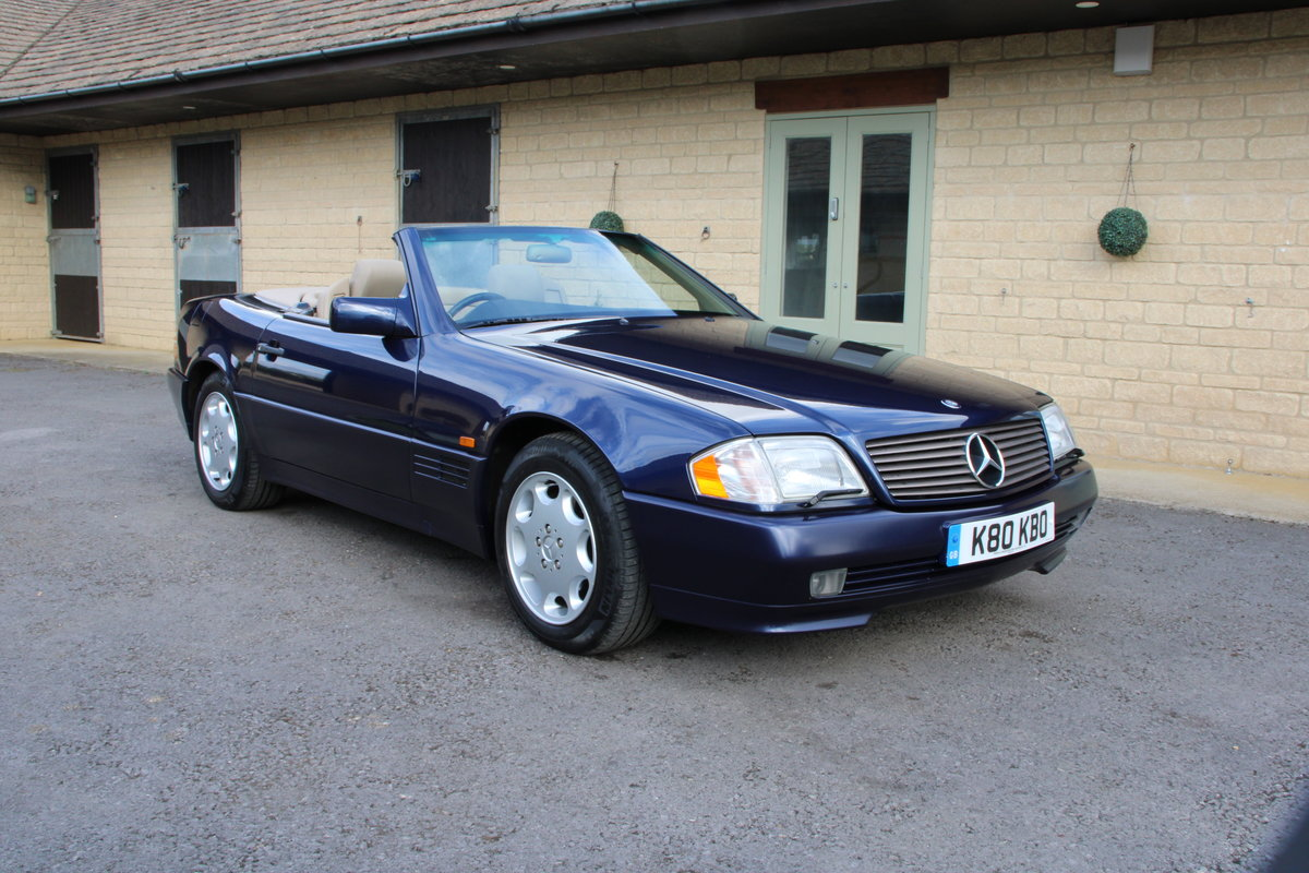 1995 MERCEDES 500 SL For Sale (picture 4 of 19)