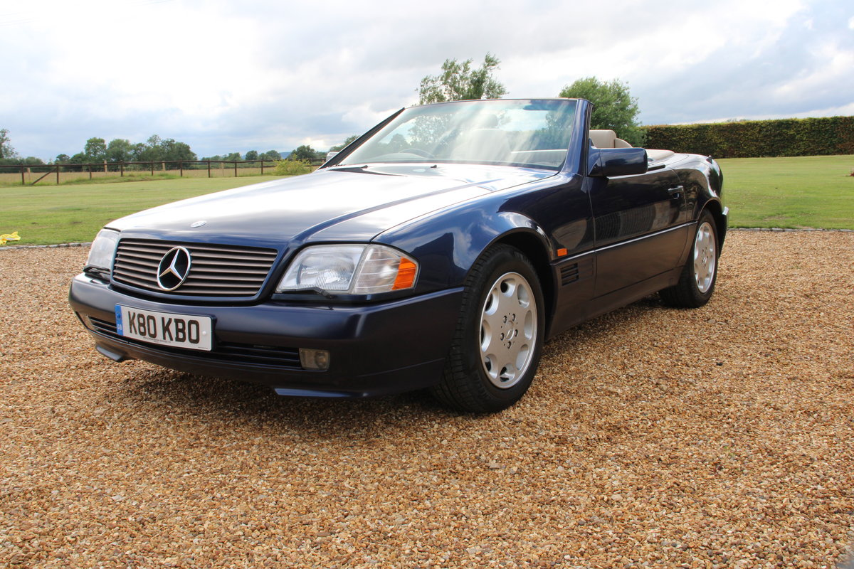 1995 MERCEDES 500 SL For Sale (picture 10 of 19)