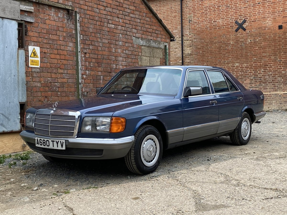 1984 Mercedes-Benz 280 SE Auto. Only 23,000 Miles  For Sale (picture 2 of 6)