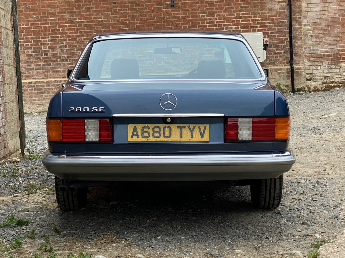 1984 Mercedes-Benz 280 SE Auto. Only 23,000 Miles  For Sale (picture 3 of 6)