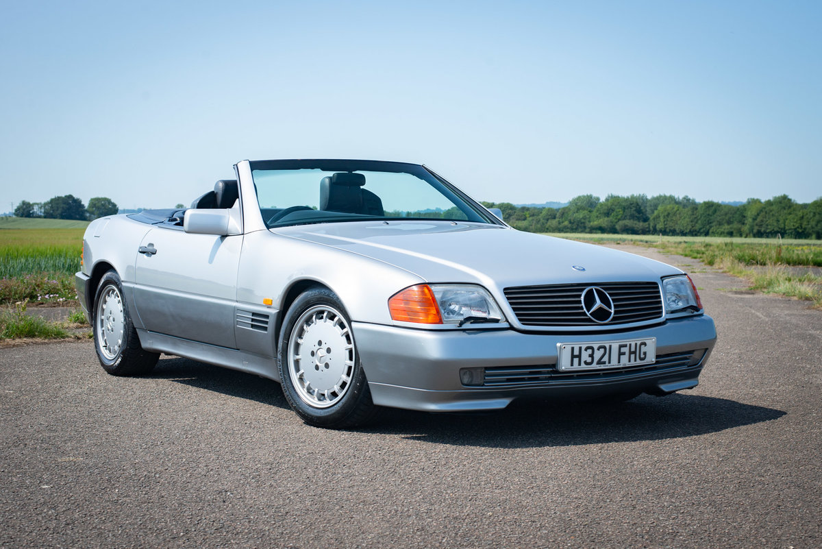 1991 Mercedes-Benz 500SL R129 - FSH - Original SOLD (picture 1 of 6)