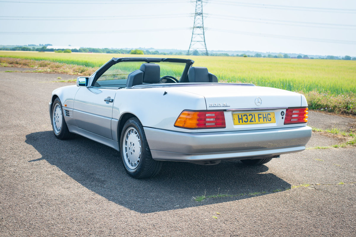 1991 Mercedes-Benz 500SL R129 - FSH - Original SOLD (picture 2 of 6)