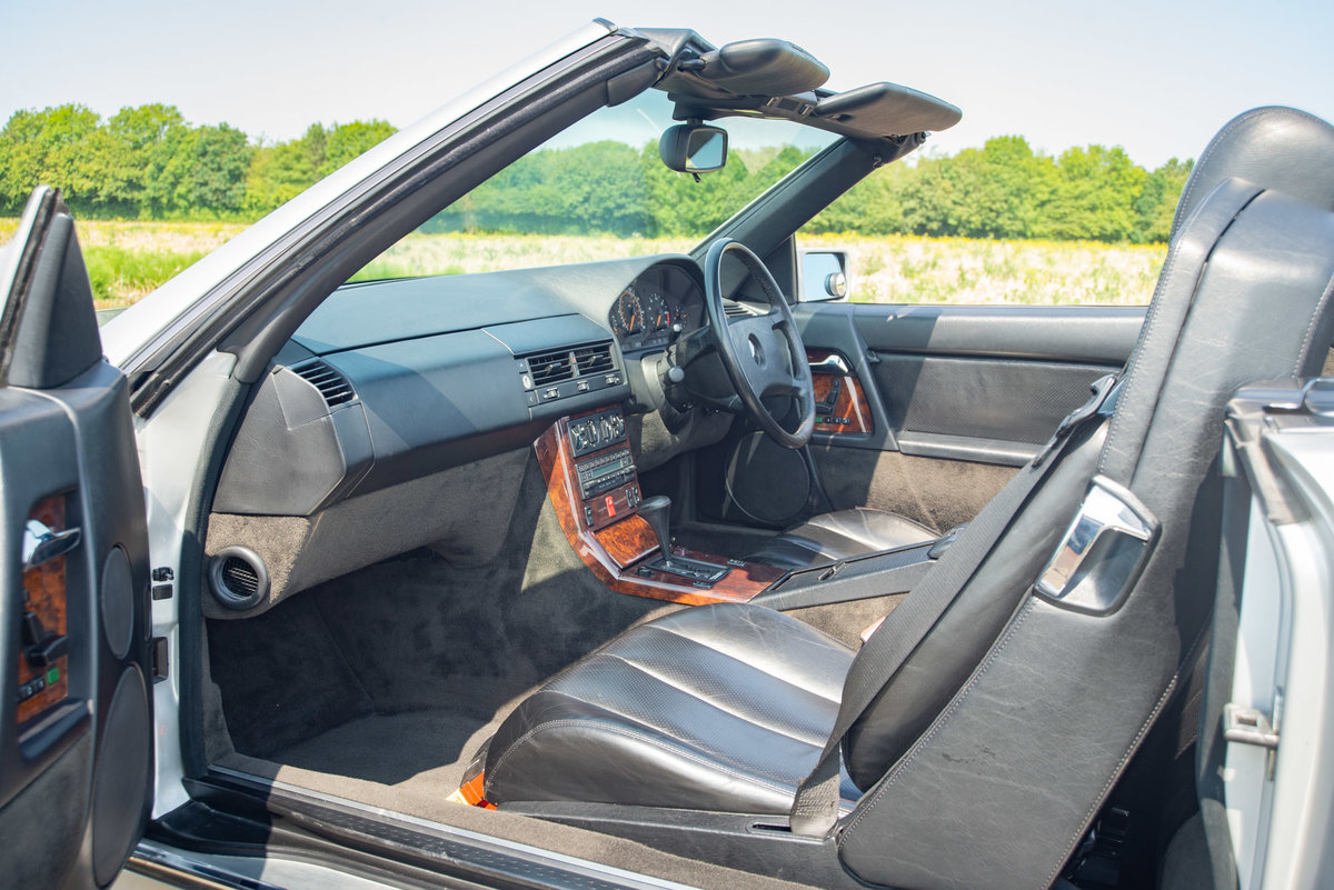 1991 Mercedes-Benz 500SL R129 - FSH - Original SOLD (picture 4 of 6)