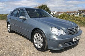 2005 MERCEDES-BENZ C180K ELEGANCE For Sale by Auction