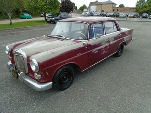 1964 MERCEDES-BENZ W110 190 LHD FINTAIL 4DR For Sale