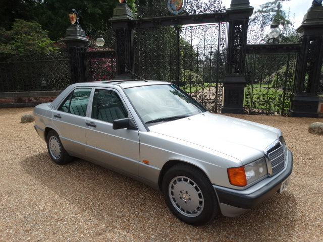 1992 MERCEDES 190E AUTO  For Sale (picture 1 of 6)