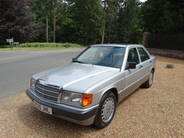 1992 MERCEDES 190E AUTO  For Sale (picture 2 of 6)