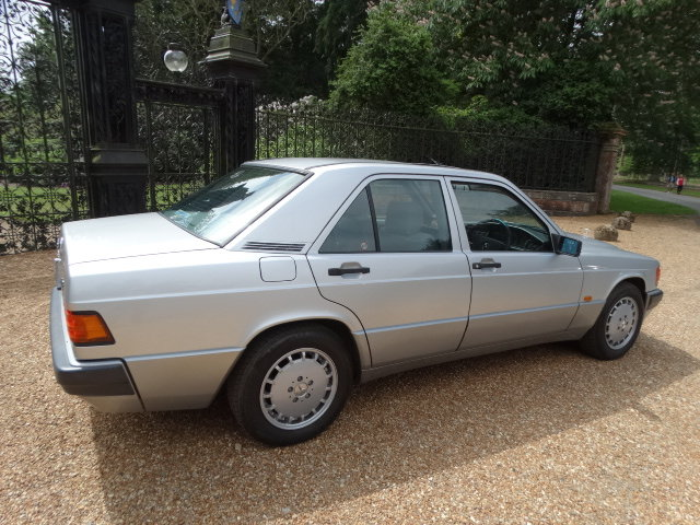 1992 MERCEDES 190E AUTO  For Sale (picture 4 of 6)