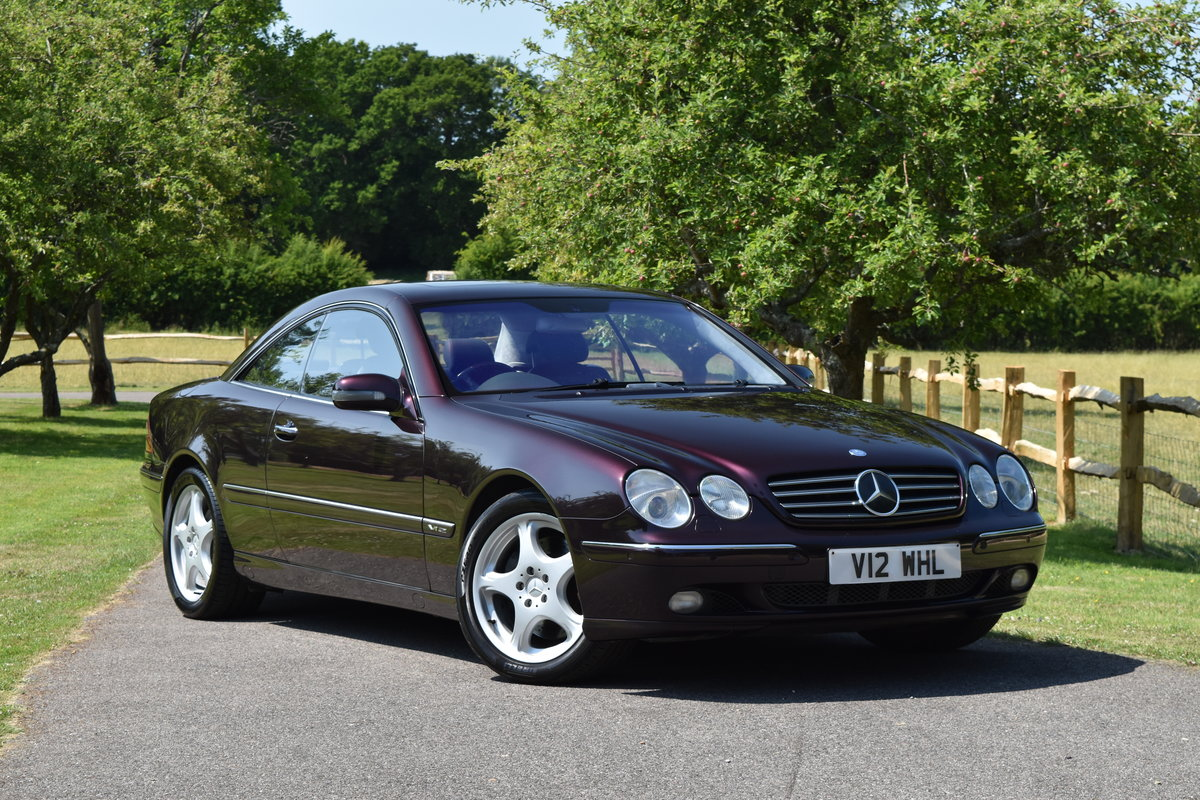 2000 Almandine Mercedes CL600 C215 W215 For Sale (picture 1 of 6)