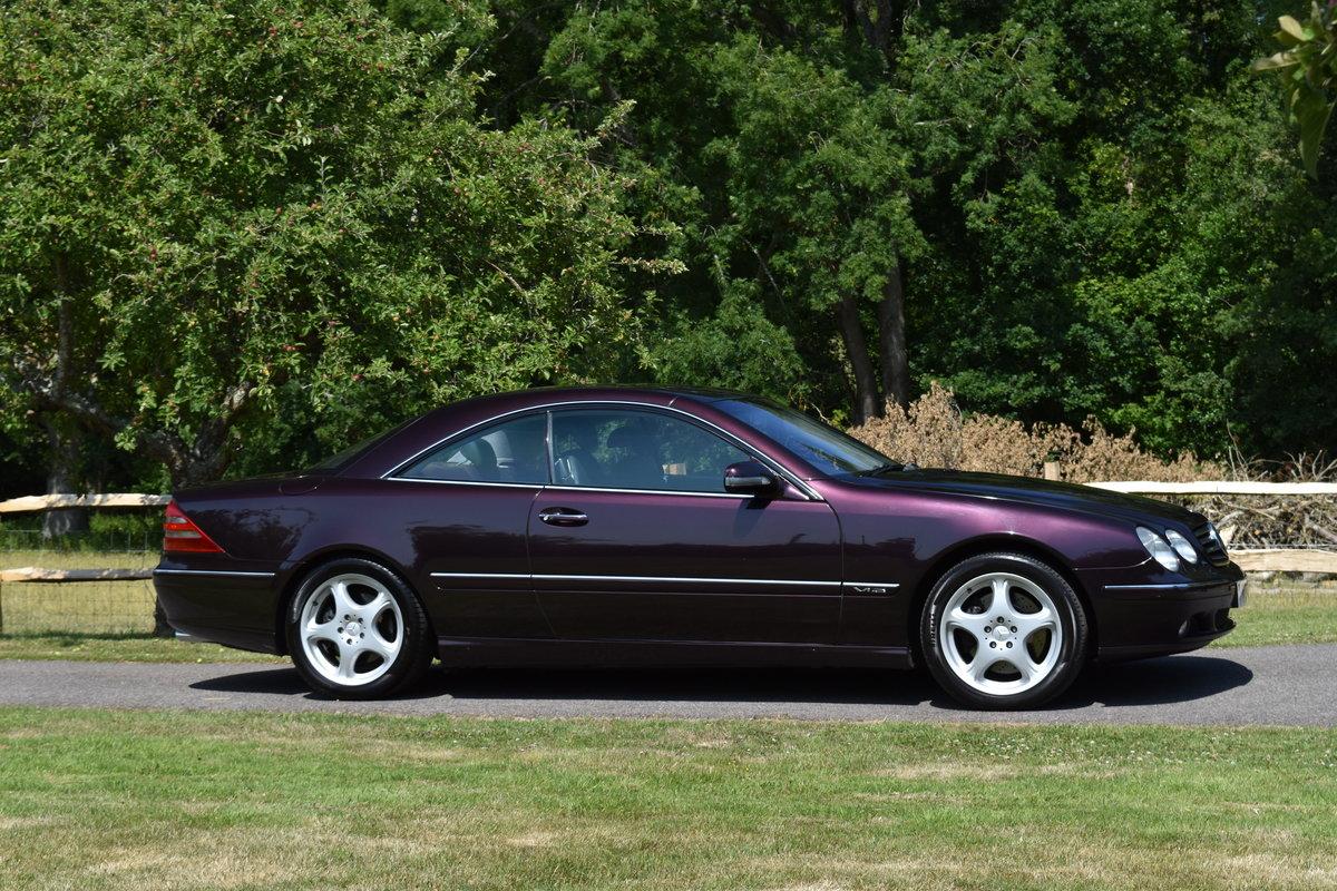 2000 Almandine Mercedes CL600 C215 W215 For Sale (picture 3 of 6)
