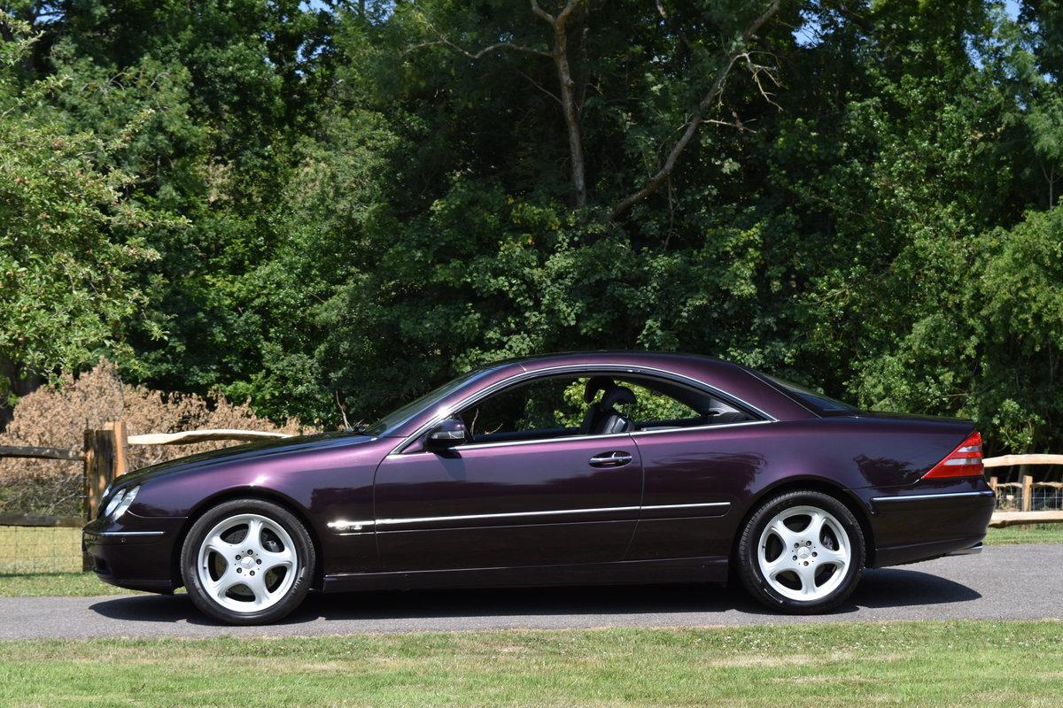 2000 Almandine Mercedes CL600 C215 W215 For Sale (picture 4 of 6)