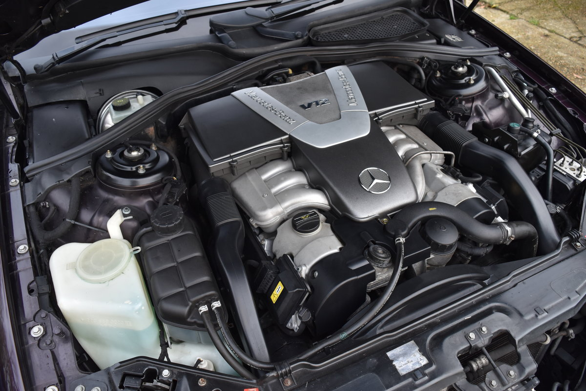 2000 Almandine Mercedes CL600 C215 W215 For Sale (picture 6 of 6)