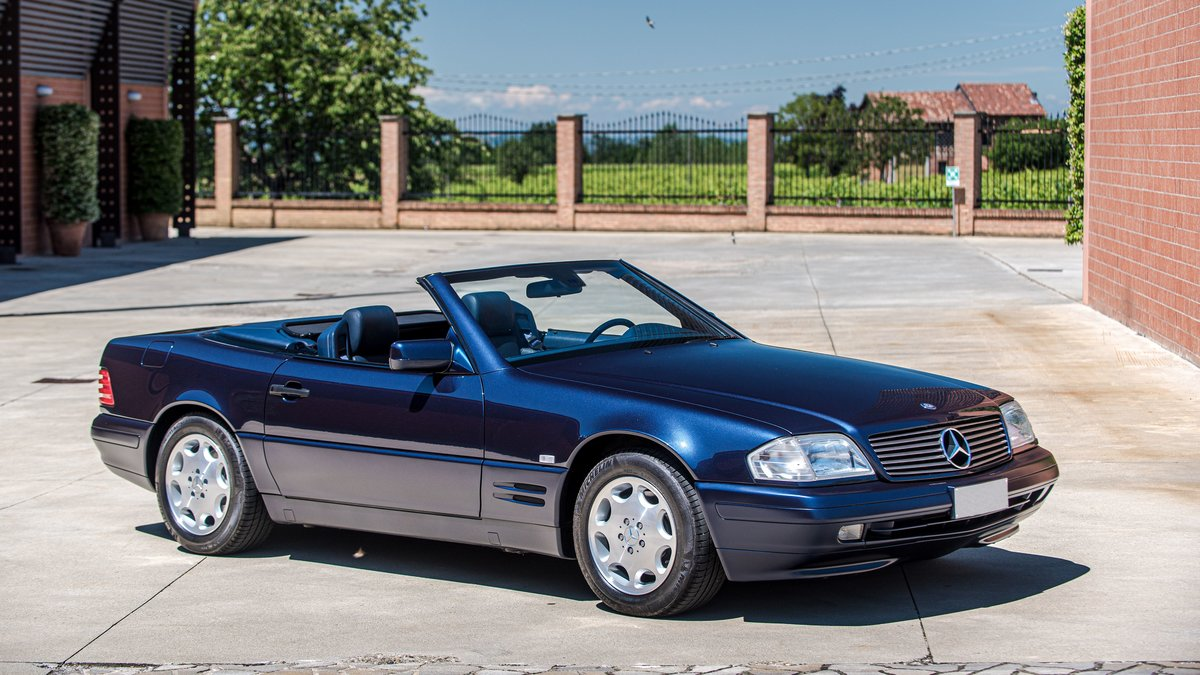 1997 Mercedes-Benz 500 SL cabriolet No reserve For Sale by Auction (picture 1 of 6)