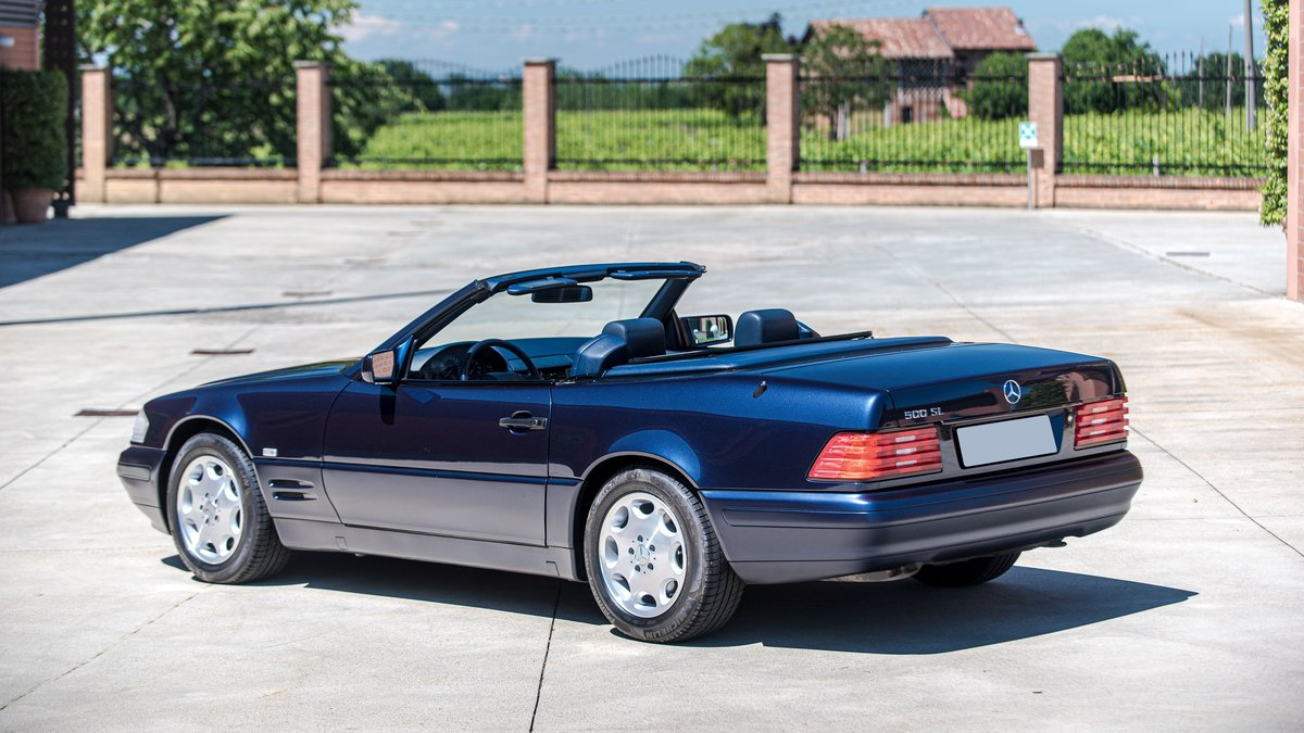1997 Mercedes-Benz 500 SL cabriolet No reserve For Sale by Auction (picture 2 of 6)