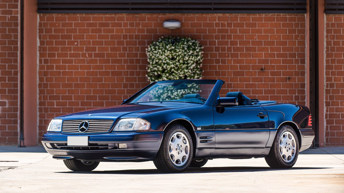 1997 Mercedes-Benz 500 SL cabriolet No reserve For Sale by Auction (picture 3 of 6)