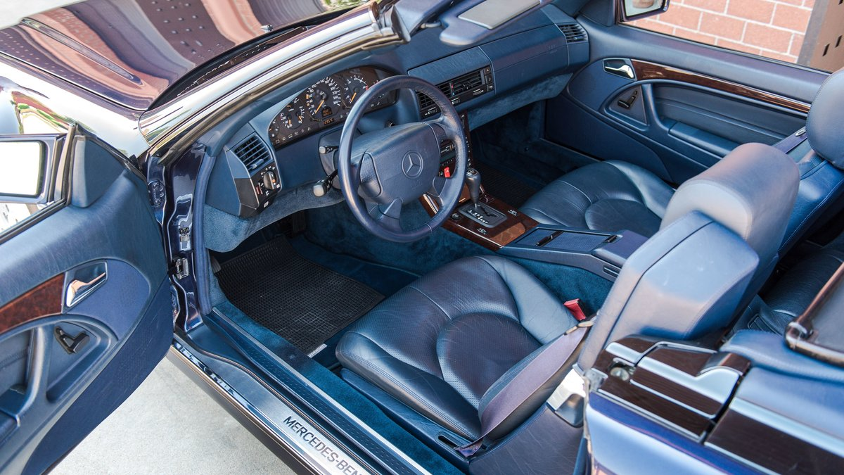 1997 Mercedes-Benz 500 SL cabriolet No reserve For Sale by Auction (picture 4 of 6)