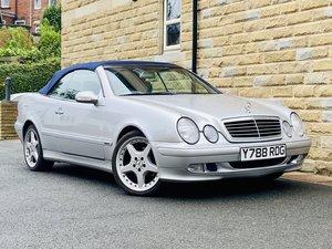 2001 Mercedes Benz CLK 230 Kompressor low mileage