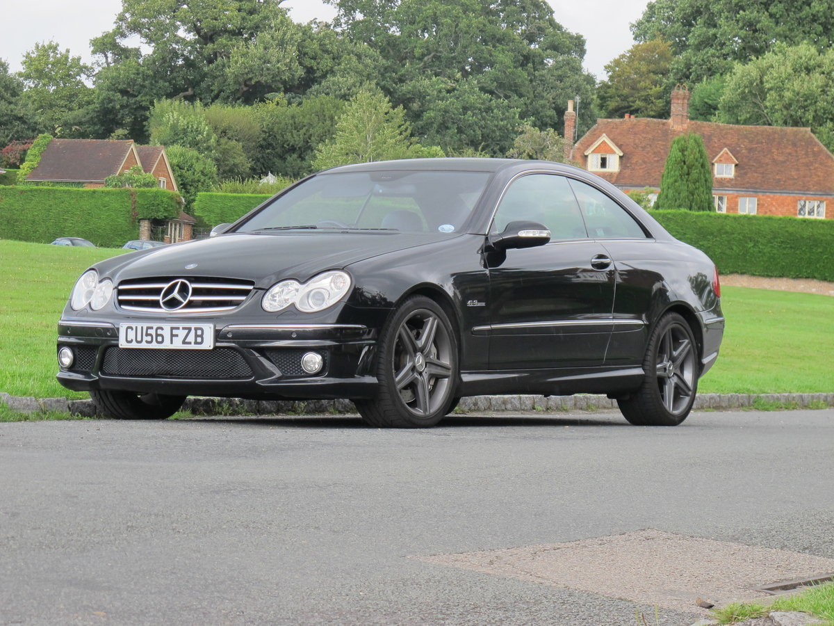 2007 CLK63 AMG Coupe For Sale (picture 4 of 5)