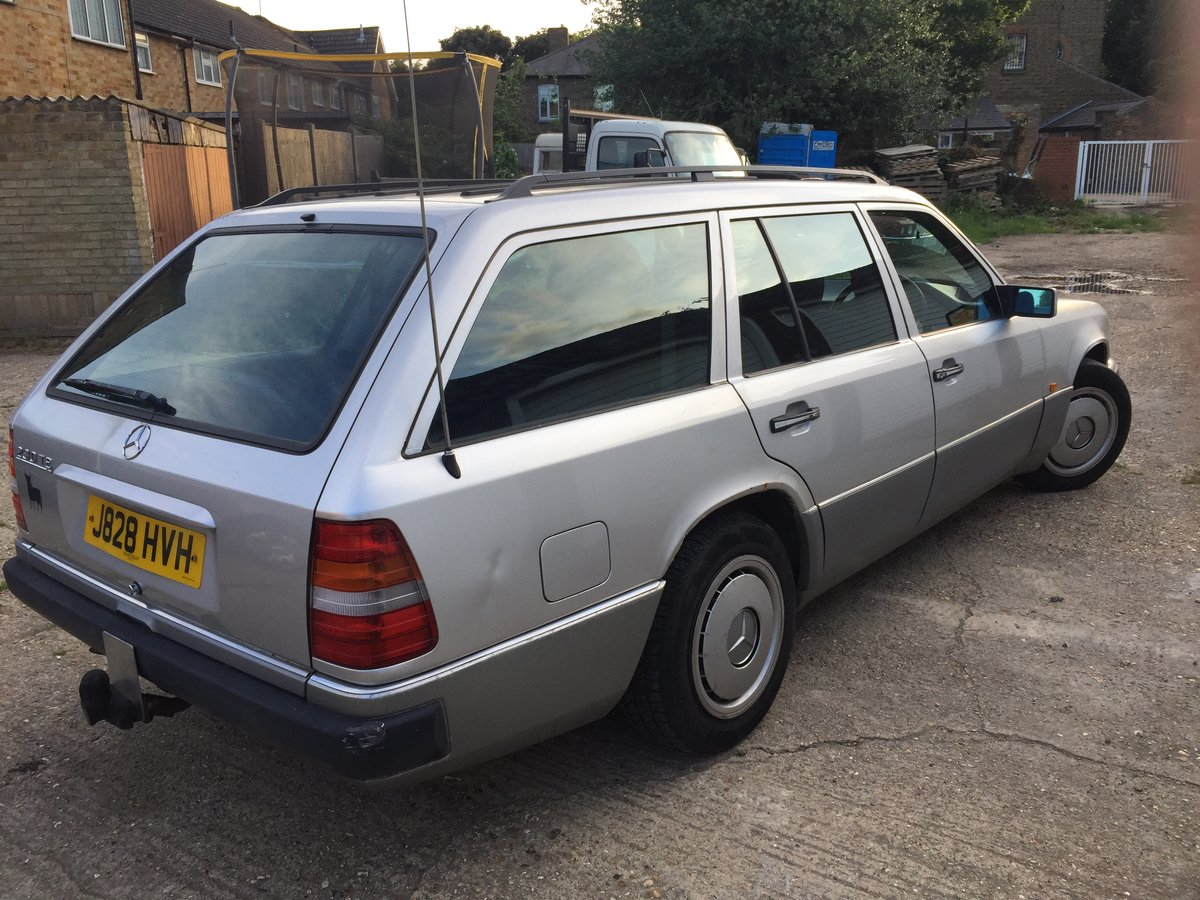 1992 230 TE AUTOMATIC 7 Seater For Sale (picture 4 of 6)