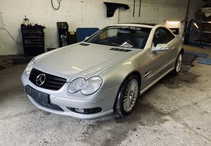 2002 Mercedes SL 55 AMG , sprint Project ,unfinished ,