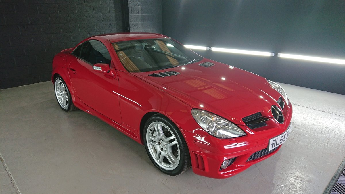 2007 Mercedes SLK 55 AMG Very rear red  For Sale (picture 1 of 6)