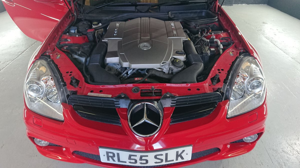 2007 Mercedes SLK 55 AMG Very rear red  For Sale (picture 3 of 6)