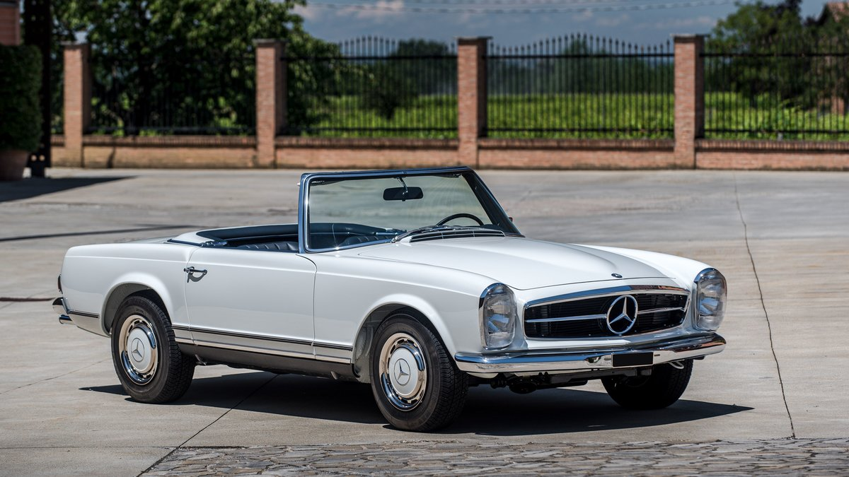 1970 Mercedes-Benz 280 SL avec Hard-top For Sale by Auction (picture 1 of 6)