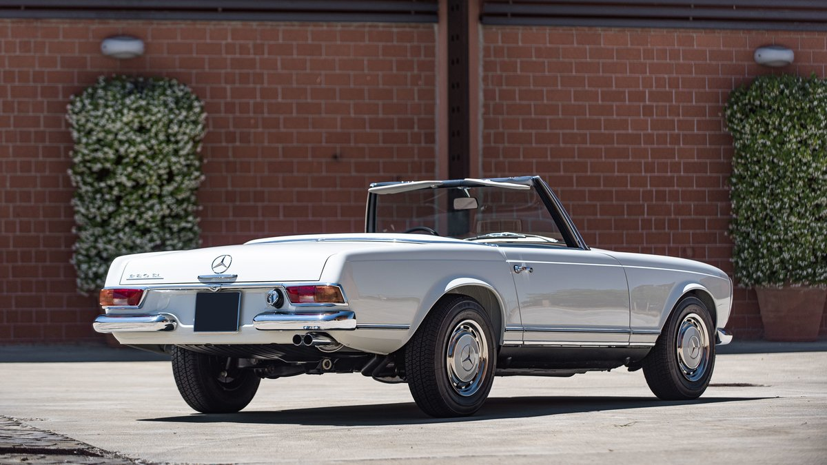 1970 Mercedes-Benz 280 SL avec Hard-top For Sale by Auction (picture 2 of 6)