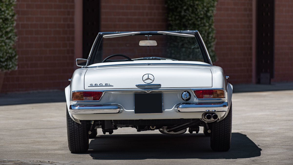 1970 Mercedes-Benz 280 SL avec Hard-top For Sale by Auction (picture 4 of 6)