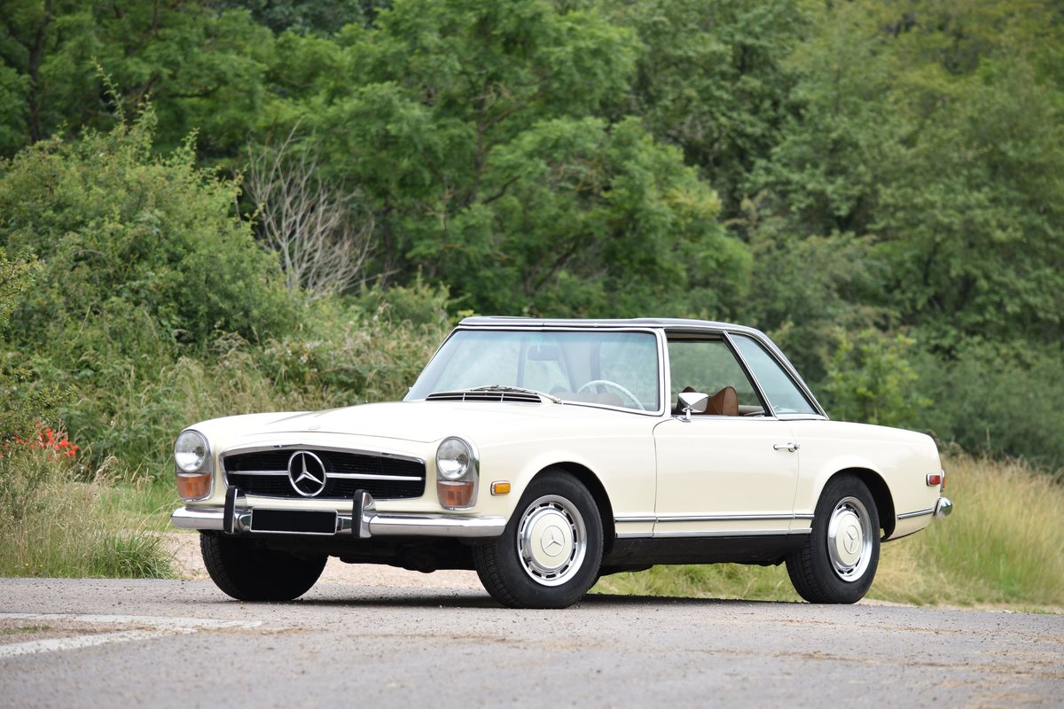 1970 Mercedes-Benz 280 SL avec Hard-top For Sale by Auction (picture 1 of 1)